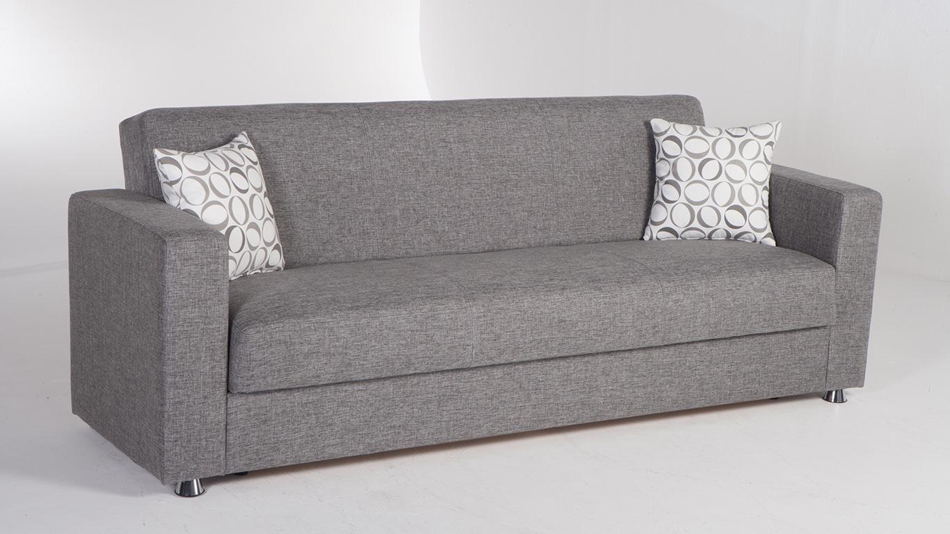 tokyo diego gray convertible sofa bedsunset