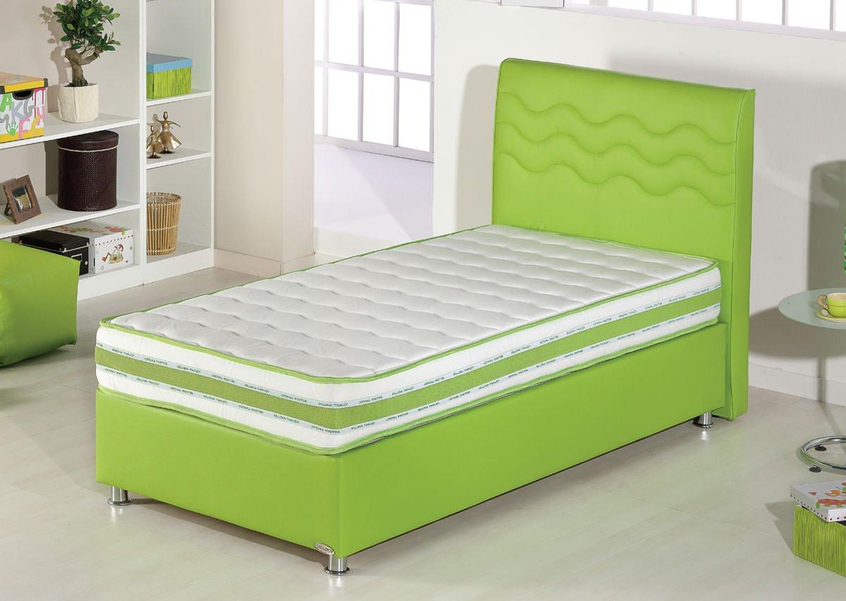 Twinjoy Platform Bed W Headboard Twin Xl Size Green By Sunset
