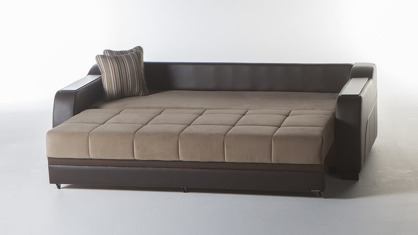 Ultra Lilyum Vizon Convertible Sofa Bed by Sunset