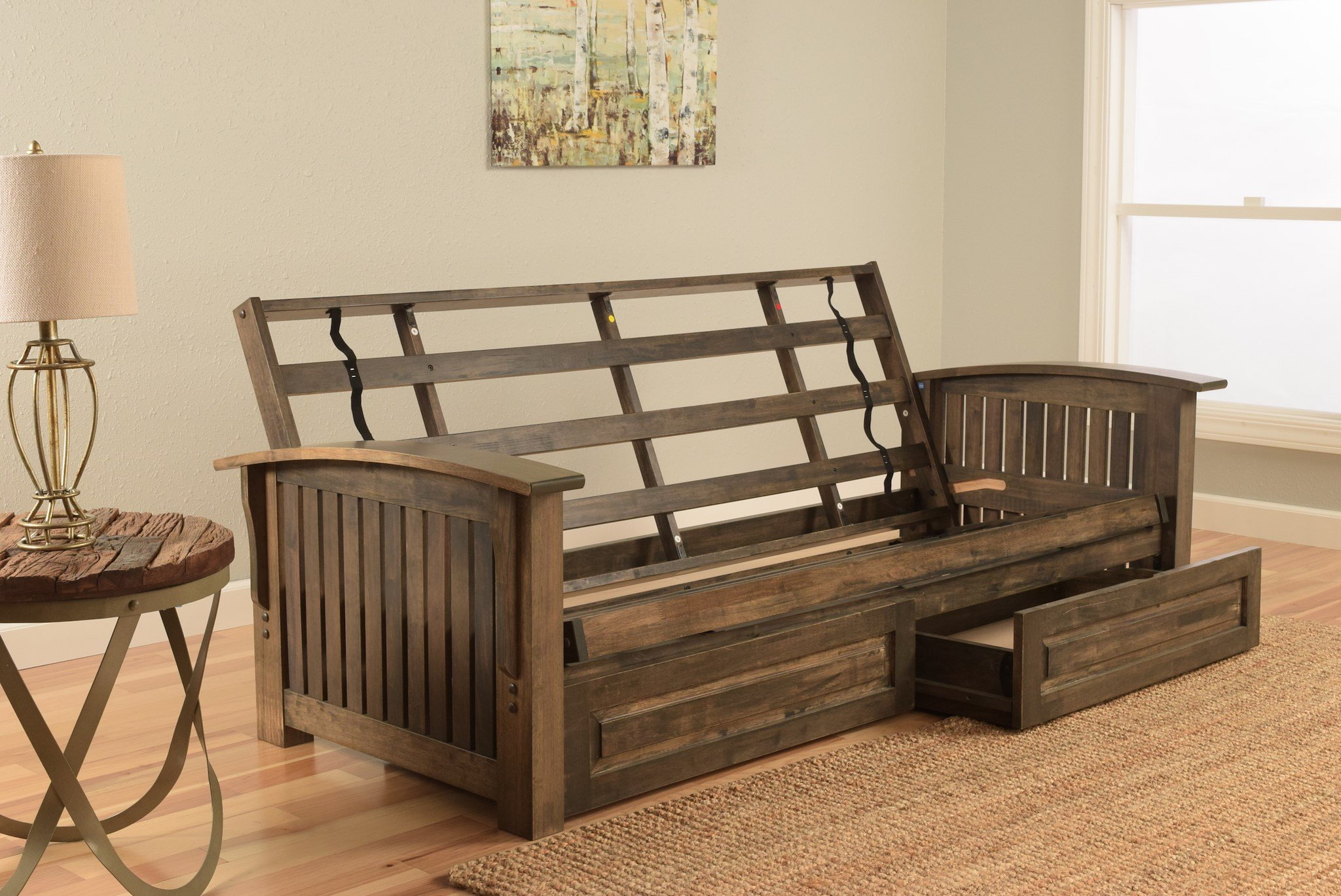 rustic futon frame | Furniture Shop