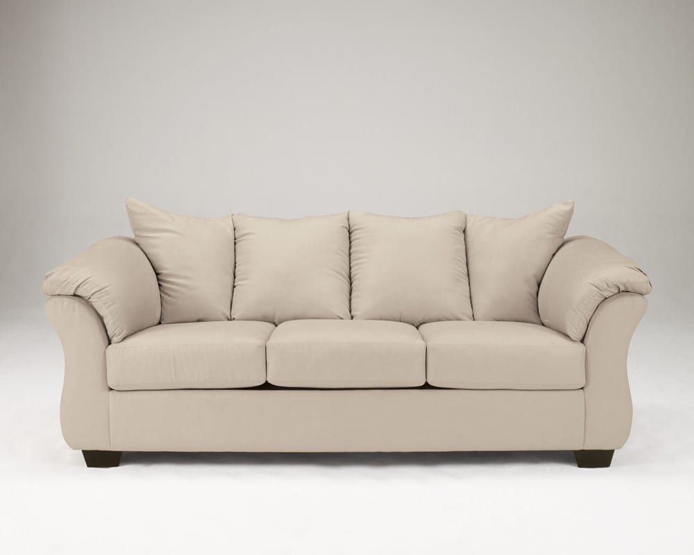 Darcy stone sofa signature design by ashley furniture for Ashley furniture