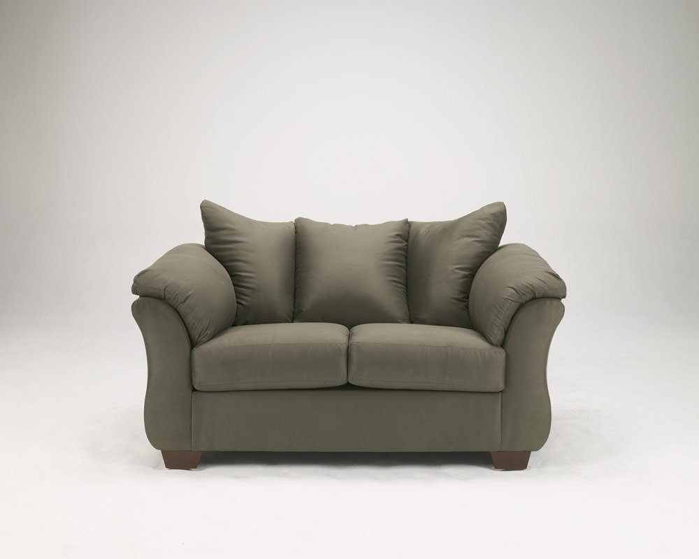 Darcy Sage Loveseat Signature Design By Ashley Furniture