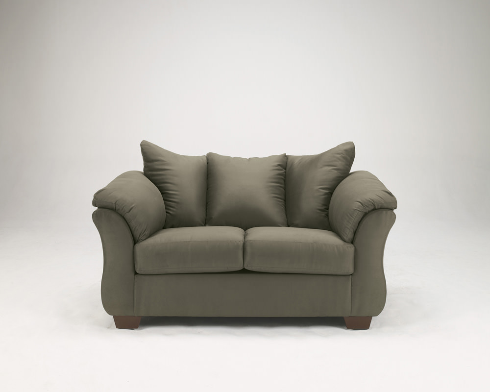 Darcy sage loveseat signature design by ashley furniture Ashley couch and loveseat