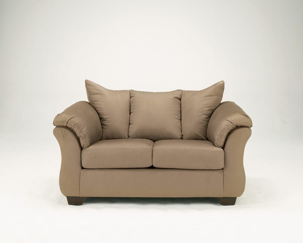 Darcy Mocha Loveseat Signature Design By Ashley Furniture