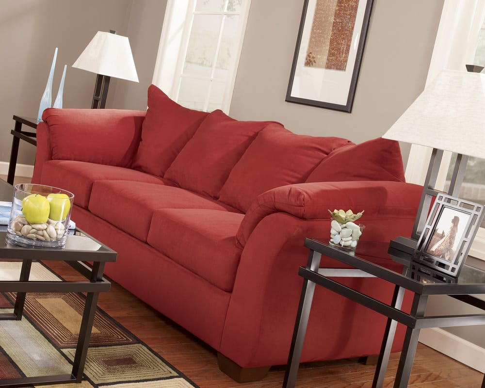 darcy salsa sofa sleeper signature design by ashley furniture