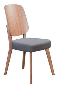 Phenomenal Brickell Dining Chair Dove Gray Set Of 2 By Zuo Modern Dailytribune Chair Design For Home Dailytribuneorg