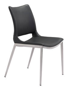 Pori Arm Chair White By Zuo Modern