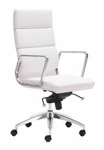 S005 Modern Office Desk White High Gloss By J Amp M