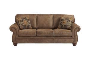 Masoli Mocha Sectional Sofa Set Signature Design By Ashley