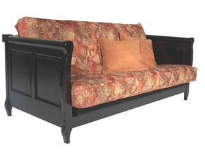Spacely Futon Daybed Lounger With Mattress Genoa By Kodiak