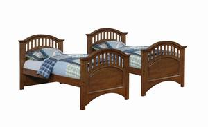 300104 Twin Size Black Daybed By Coaster