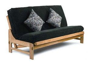 Naples Split Back Pillow Top Promo Khaki Convertible Sofa