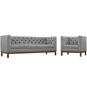 F7669 Pebble Sectional Sofa Set By Poundex