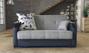 Valerie Diego Gray Loveseat Sleeper By Istikbal Furniture