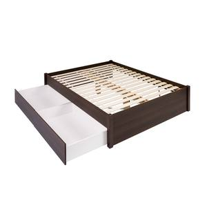 Queen Tall Platform Storage Bed 12 Drawers By Prepac