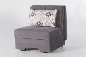 Kk18 Grey Loveseat By At Home Usa