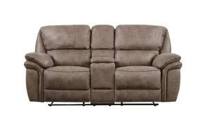 Strange Acieona Slate Reclining Sofa With Drop Down Table By Ashley Machost Co Dining Chair Design Ideas Machostcouk