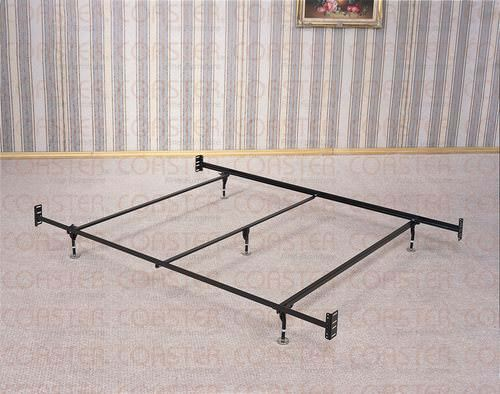 metal bed frame with glides by coaster - Coaster Bed Frame