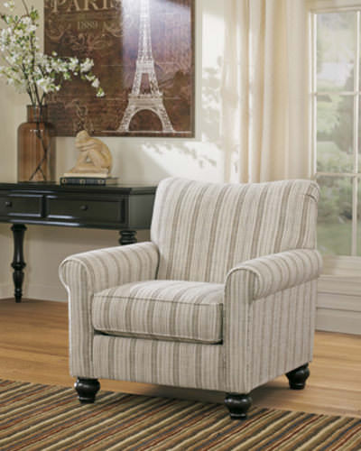 Milari Linen Accent Chair Signature Design