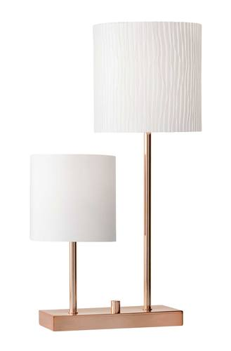Aubrey table lamp copper by adesso furniture