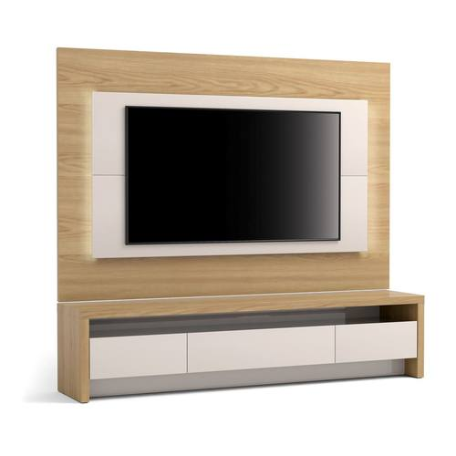 Sylvan 2 Piece 7086 Inch Off White Natural Wood Tv Stand Tv
