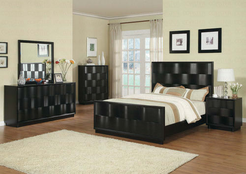 Wave Bedroom Set By Coaster