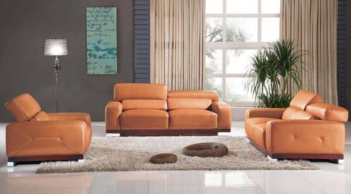 2766 Leather U0026 Split Sofa