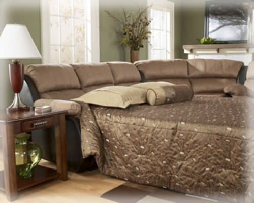 Presley Cocoa Sofa Sleeper Signature Design
