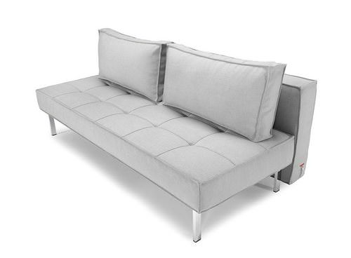 Sly Deluxe Sofa Bed Light Grey Basic