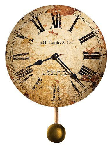 620 257 J H Gould Co W Pend Wall Clock By Howard Miller