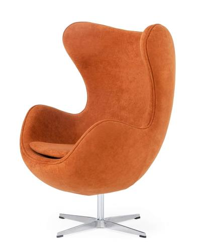 Modern Rust Fabric Accent Chair By Vig, Modern Rust Furniture