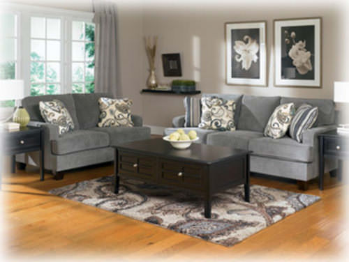 Yvette Steel Loveseat Signature Design By Ashley Furniture