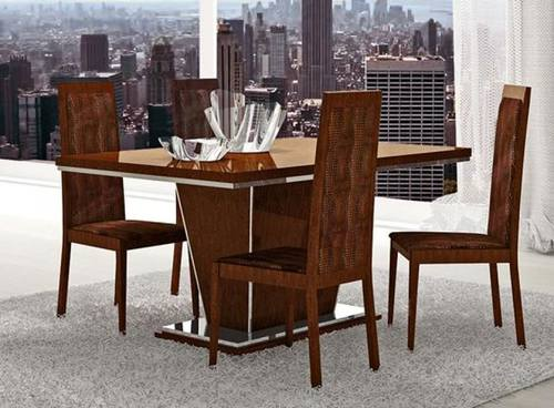 Caprice Walnut Dining Table With Extension