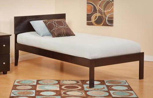 Orlando Platform Bed With Mattress Set