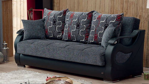 Arizona Gray Fabric Sofa Bed