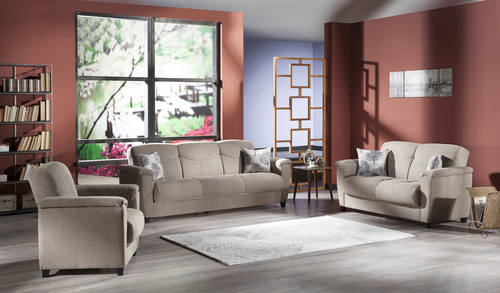 Forest Brown Sofa Love Chair by Sunset – Aspen Chair