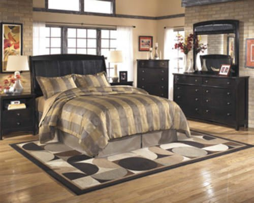 Harmony Dark Brown Bedroom Set Signature Design by Ashley Furniture
