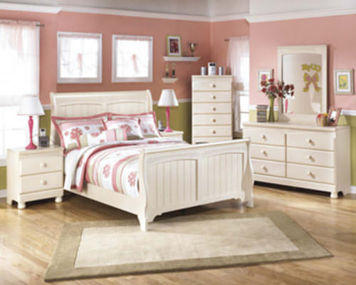 B213 cottage retreat bedroom set signature design by ashley furniture Cottage retreat collection bedroom furniture