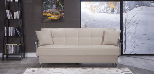 betsy cream sofa bed by sunset
