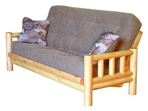 Medium image of tahoe rustic finish futon frame by simmons futons