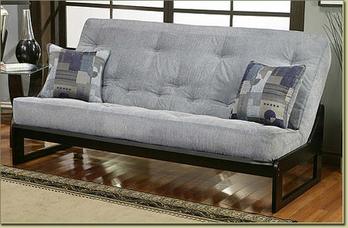alpha full size black finish futon frame by simmons futons full size black finish futon frame by simmons futons  rh   futonland