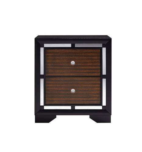 Camila Brown Cherry Nightstand By Global Furniture