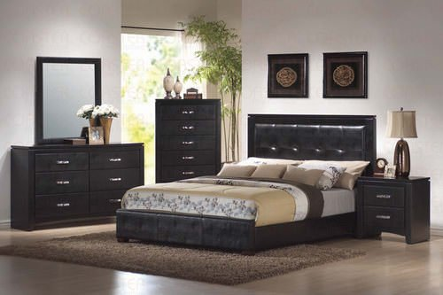 Black Bedroom Set by Coaster