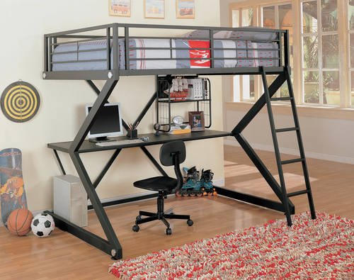 Parkview Full Workstation Loft Bed By, Coaster Fine Furniture Assembly Instructions