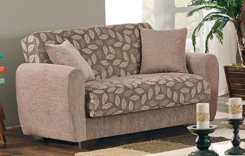 Chestnut Loveseat By Empire Furniture USA