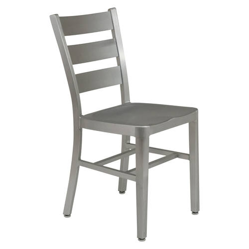 Delmar Modern Aluminum Dining Chair