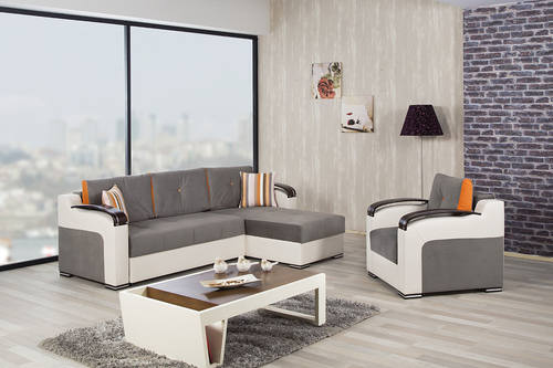 Divan Deluxe Golf Gray Sectional Sofa By Casamode Part 78