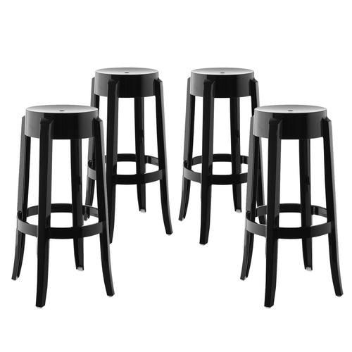 Peachy Casper Bar Stool Set Of 4 Black By Modern Living Gamerscity Chair Design For Home Gamerscityorg