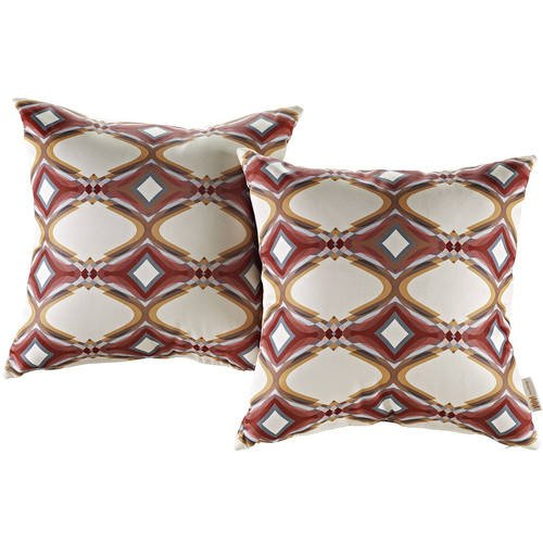 Modern Living Two Piece Outdoor Patio Pillow Set Repeat By Modern