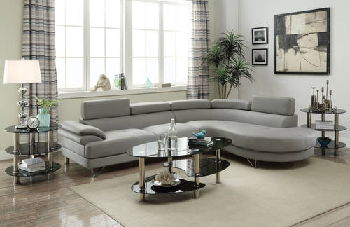 sofa benford walmart com and loveseat poundex furniture faux set in linen cupboard slate ip